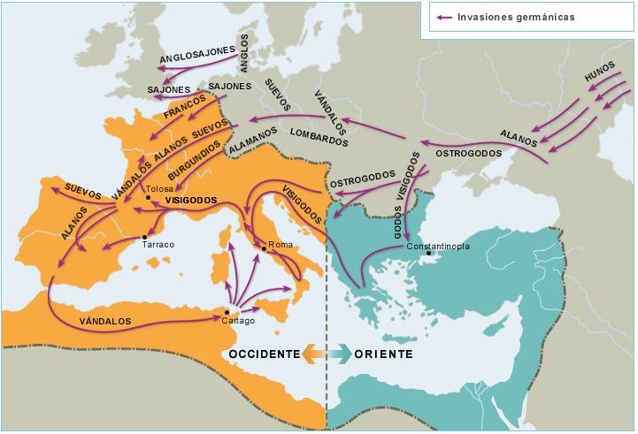 Invasiones germanas