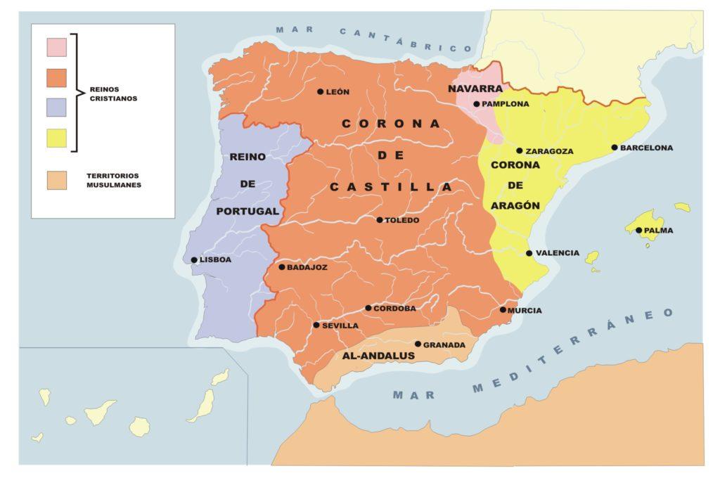 Evolución de la conquista cristiana en el siglo XV