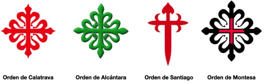 Lar órdenes militares cristianas en la península